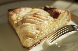 how far can one piece of pear tart go?