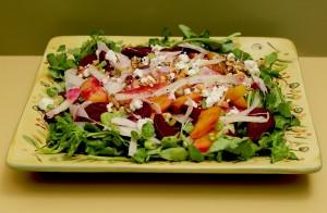 beets salad-roasted