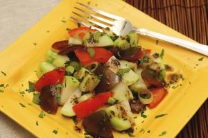 chayote_tomato salad