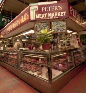 Arthur Ave meat market