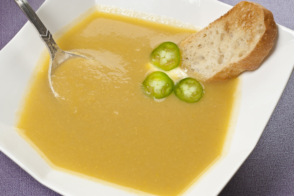 Yellow Beet & Turnip Soup