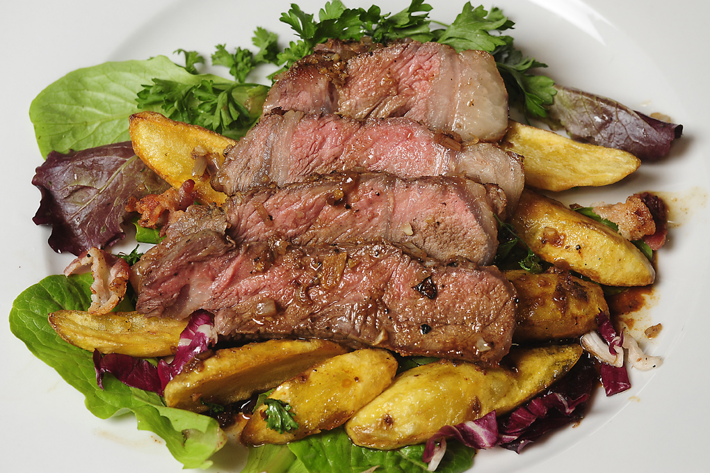 Here S The Beef Pan Roasted Ribeye Steaks With Fingerling