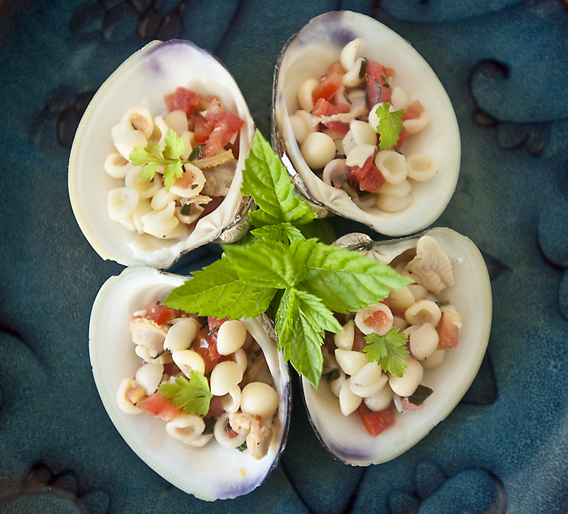 Clams And Rice Served In The Shell Recipes — Dishmaps